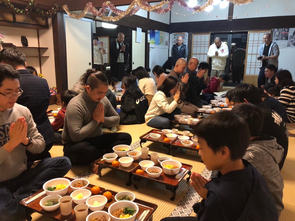 第14回(12月)寺GO飯が開催されました。