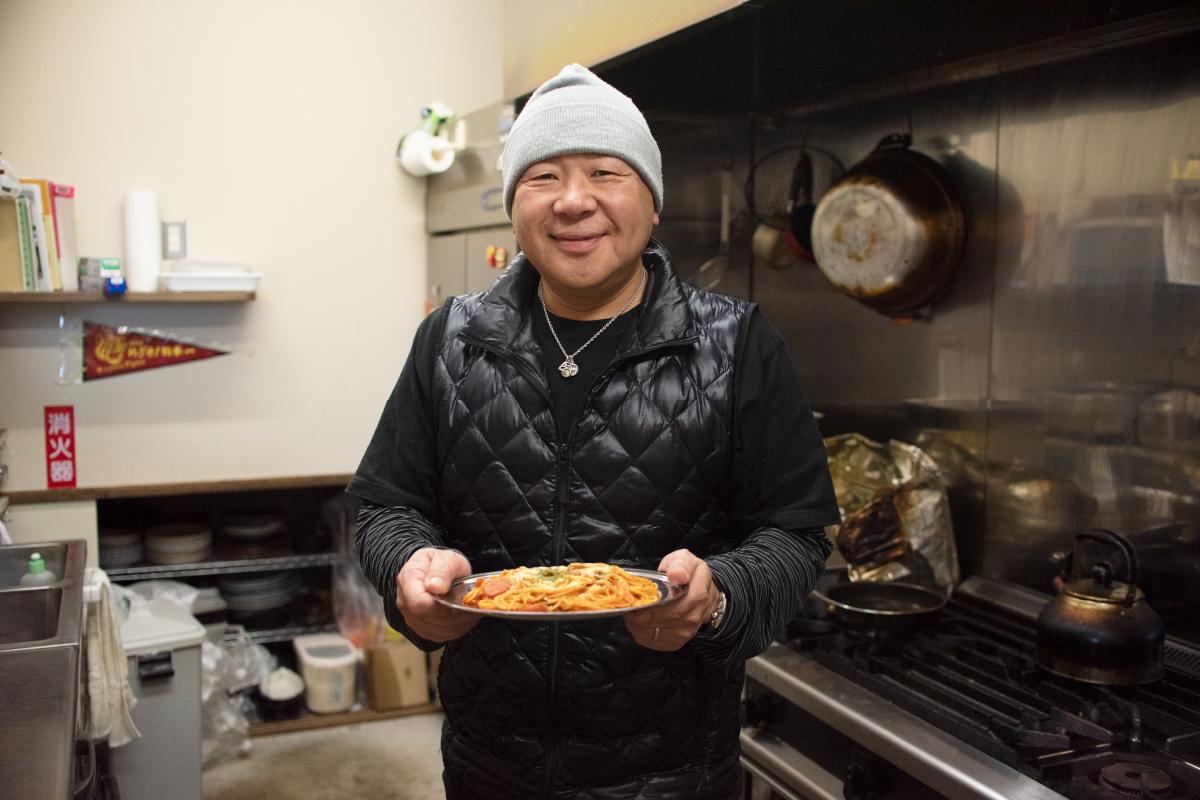「Dining 徳治」マスター 渡邉芳郎さん