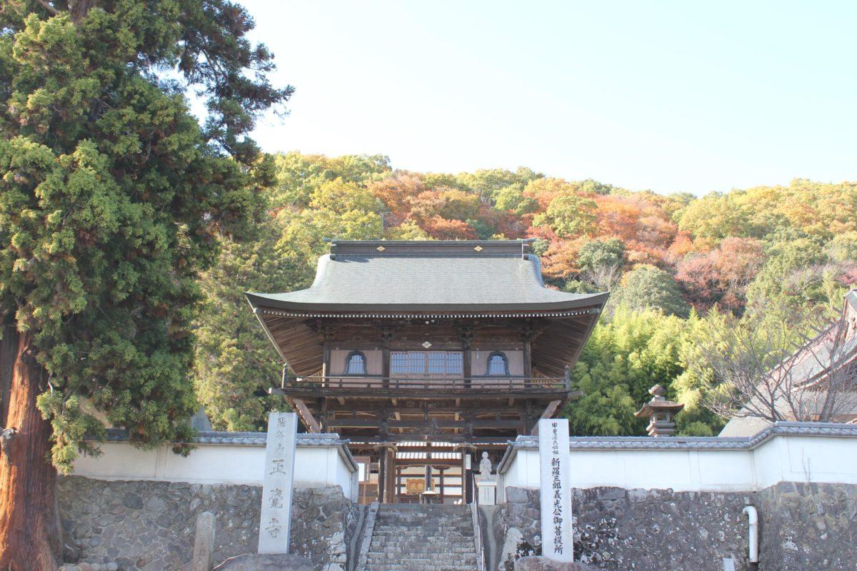 ご利益寺を巡ろう! 甲斐源氏を感じる「正覚寺」の摩訶不思議と禅